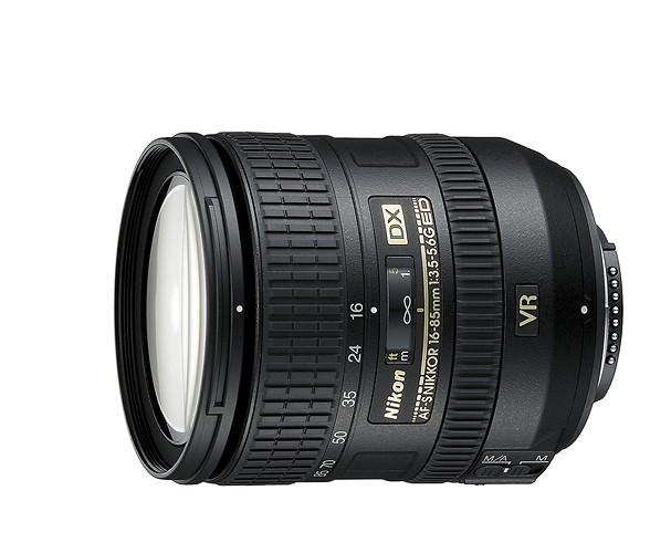 Купить - Nikon Nikon AF-S DX NIKKOR 16-85mm f/3.5-5.6G ED VR (JAA800DA)