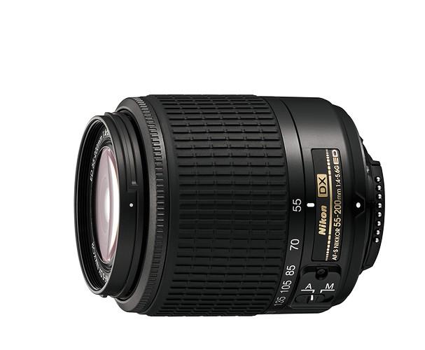 Купить -  Nikon AF-S DX Zoom-NIKKOR 55-200mm f/4-5.6G ED black