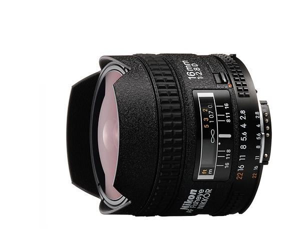 Купить -  Nikon AF Fisheye-NIKKOR 16mm f/2.8D