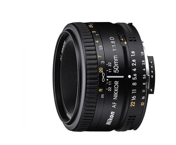 Купить - Nikon Nikon AF NIKKOR 50mm f/1.8D (JAA013DA)