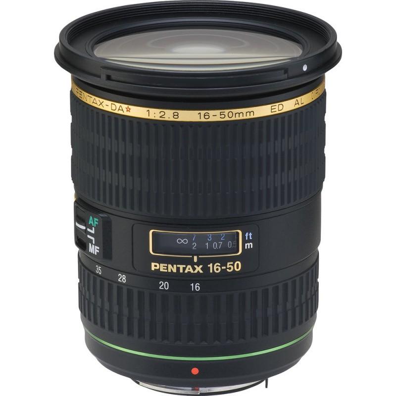 Купить - Pentax PENTAX DA* 16-50 mm F2.8 ED AL [IF] SDM (Официальная гарантия)