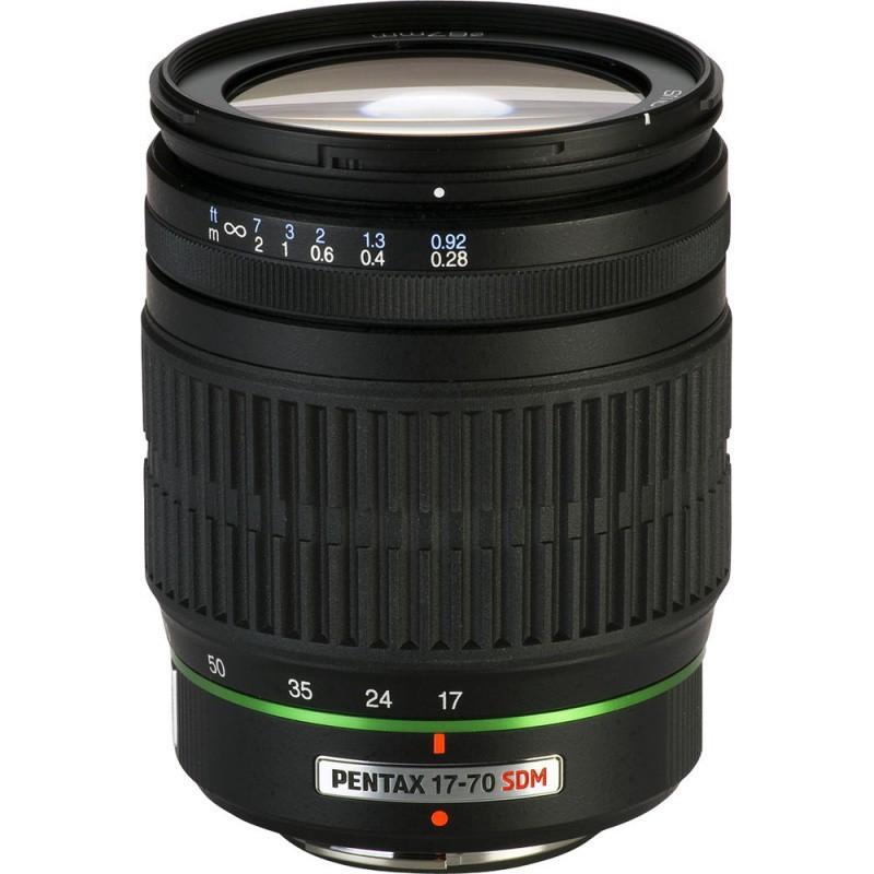 Купить - Pentax Pentax SMC DA 17-70mm f/4 AL (IF) SDM (Официальная гарантия)