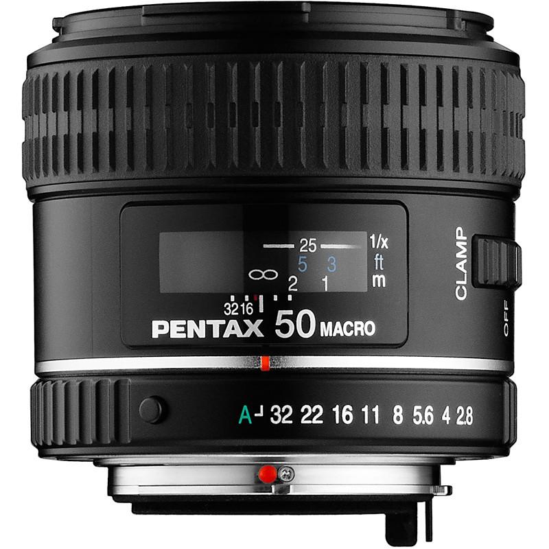 Купить - Pentax Pentax SMC D FA Macro 50mm f/2.8 (Официальная гарантия)
