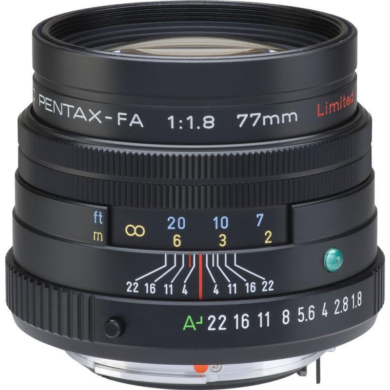 Купить - Pentax Pentax SMC FA 77mm f/1.8 Limited Black (Официальная гарантия) (S0027980)