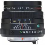 Фото Pentax Pentax SMC FA 77mm f/1.8 Limited Black (Официальная гарантия)