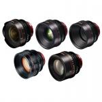 Фото - Canon Комплект объективов Canon EF Primes Bundle 14/24/50/85/135 (M)