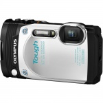 Фото - Olympus STYLUS TG-870 White (Waterproof - 15m; Wi-Fi; GPS) (V104200WE000)