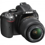 Фото - Nikon Nikon D5200+18–55mm II Black KIT (VBA350KV02)