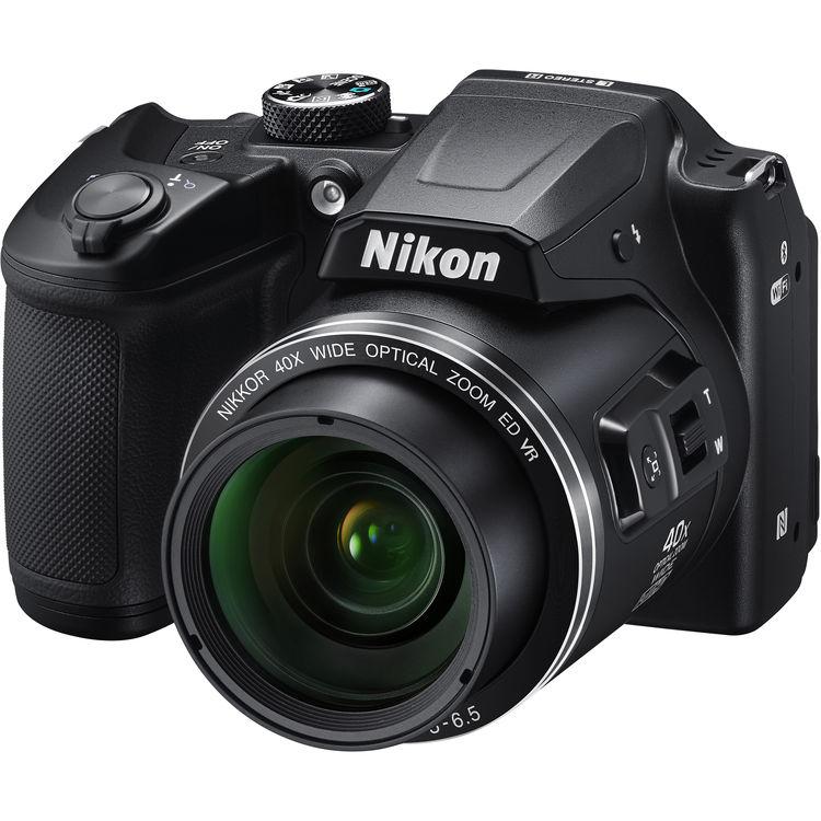 Купить - Nikon COOLPIX B500 Black (VNA951E1)