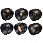 Фото - Canon Комплект объективов Canon CN-E 6 lens kit Primes Bundle 14/24/35/50/85/135 (M)