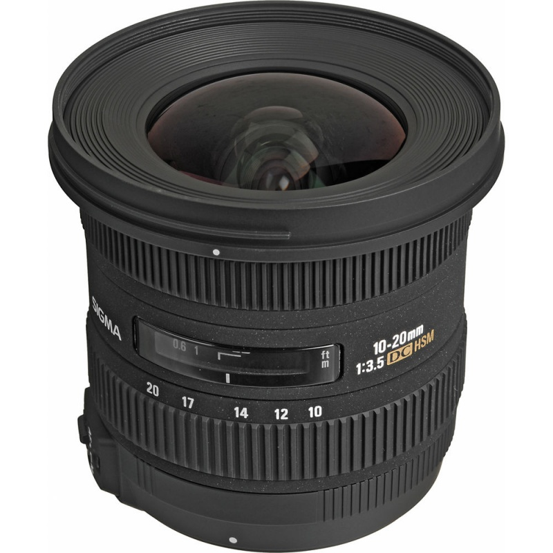 Купить - Sigma Sigma 10-20mm F3.5 EX DC HSM (Canon)