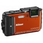 Фото - Nikon Nikon Coolpix AW130 Orange Diving kit (VNA842k002)