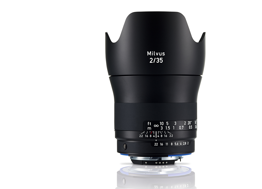 Купить -  Carl Zeiss ZEISS Milvus 2/35 ZF.2 - объектив с байонетом Nikon + светофильтр Carl Zeiss T* UV Filter 58 mm в подарок!!!