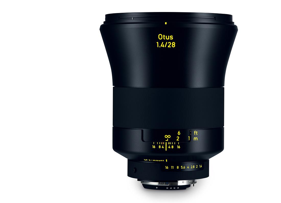 Купить -  Carl Zeiss ZEISS Otus 1,4/28 ZF.2  - объектив с байонетом Nikon + светофильтр Carl Zeiss T* UV Filter 95 mm в подарок!!!