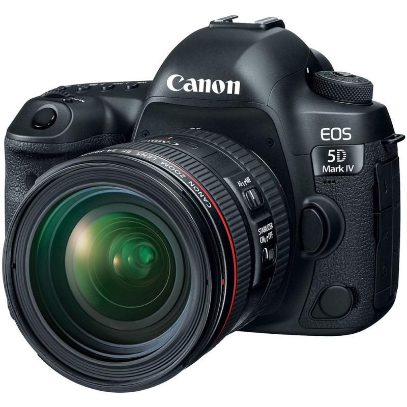 Купить - Canon Canon EOS 5D Mark IV kit EF 24-70 4L ІS (Официальная гарантия)
