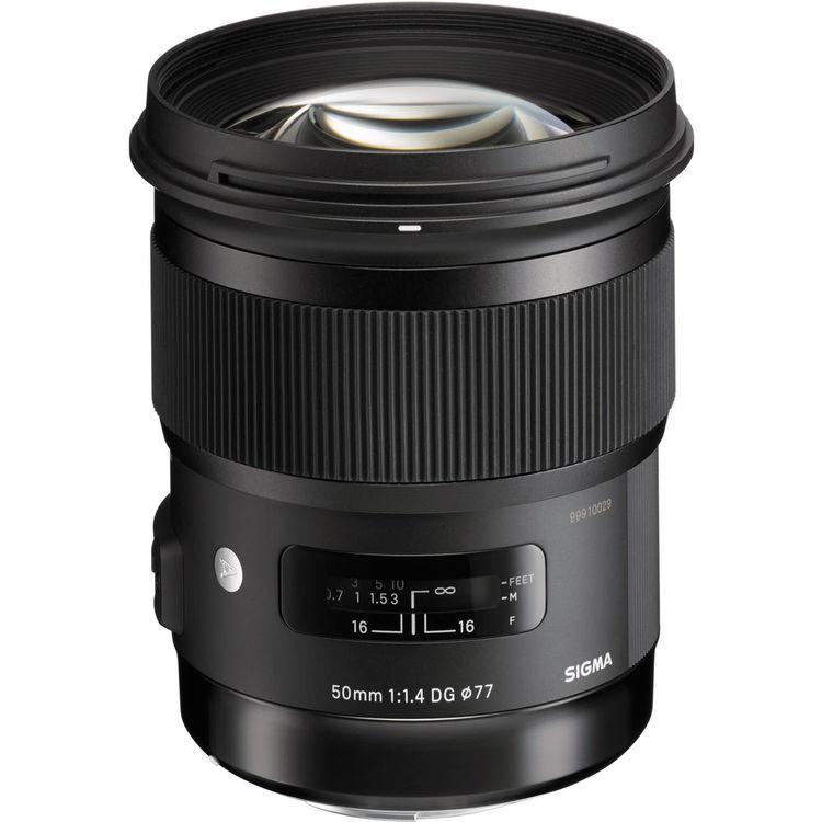 Купить - Sigma SIGMA AF 50/1,4 EX DG HSM Art Nikon