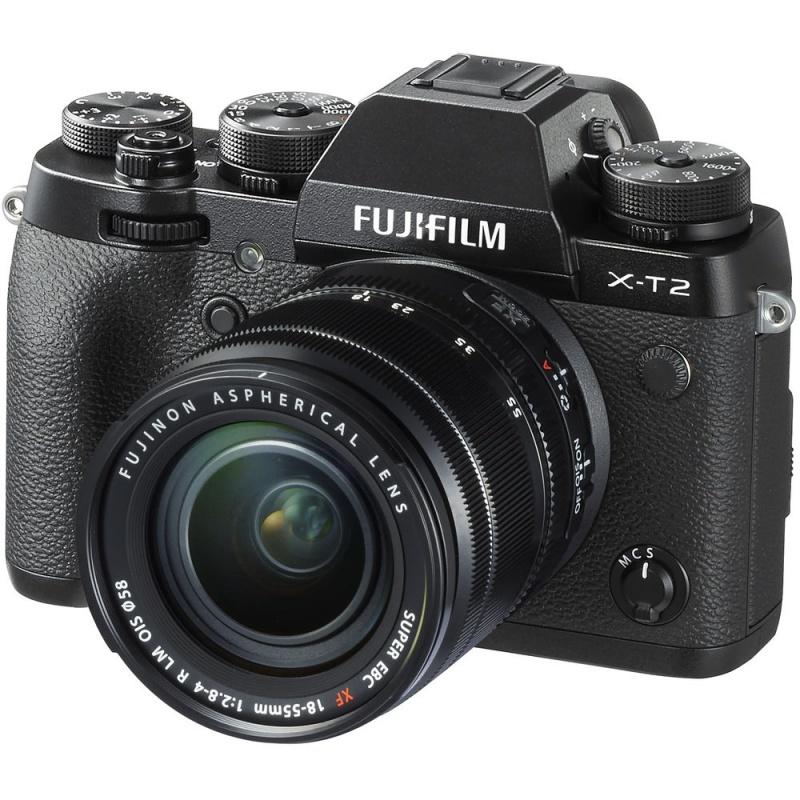 Купить - Fujifilm Fujifilm X-T2 + XF 18-55mm F2.8-4.0 Kit Black