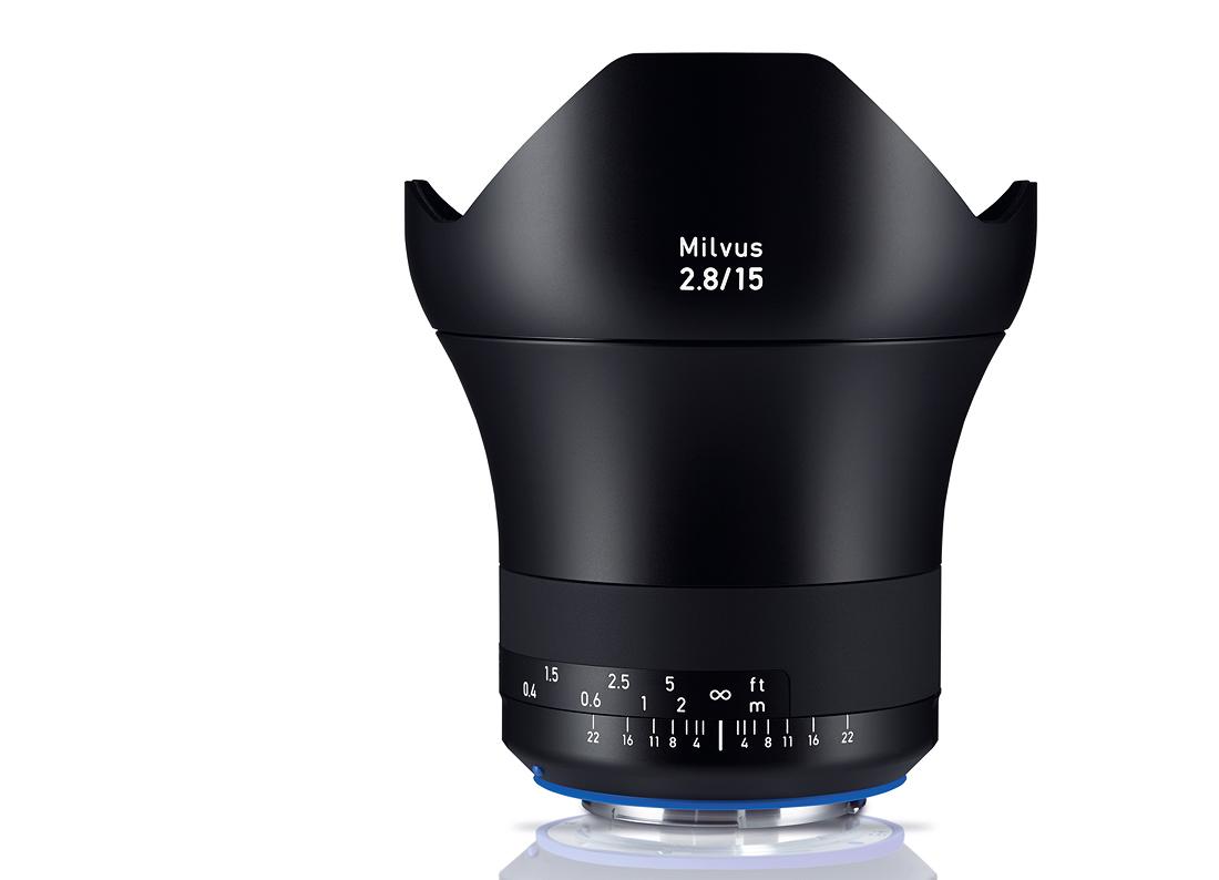Купить -  Carl Zeiss ZEISS Milvus 2.8/15 ZE - объектив с байонетом Canon + светофильтр Carl Zeiss T* UV Filter 95 mm в подарок!!!