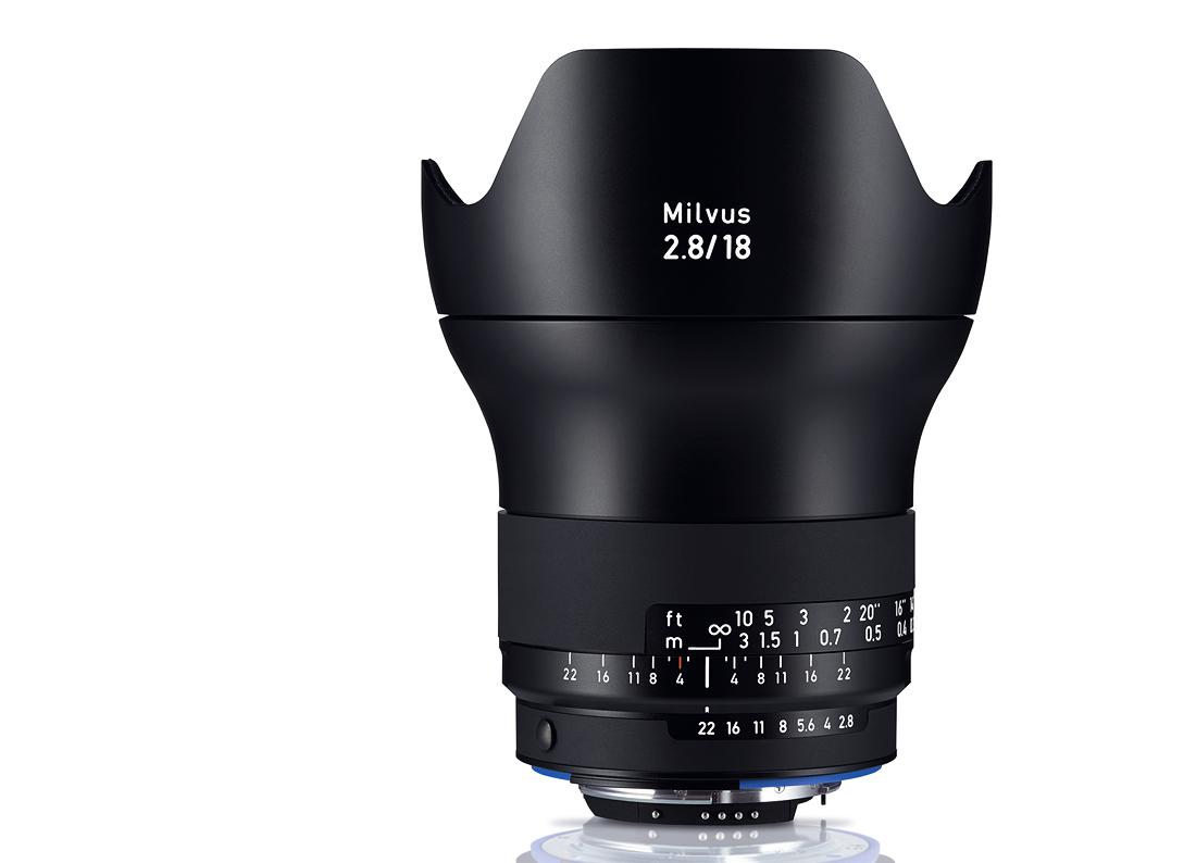 Купить -  Carl Zeiss Milvus 2.8/18 ZF.2 - объектив с байонетом Nikon + светофильтр Carl Zeiss T* UV Filter 77 mm в подарок!!!