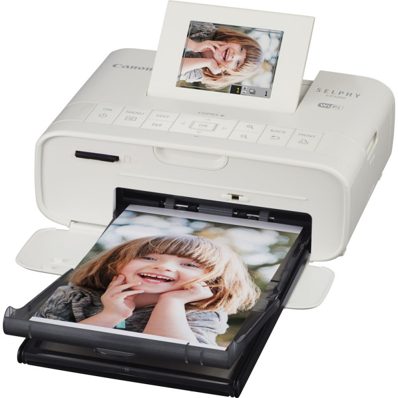 Купить - Canon CANON SELPHY CP1200 White +  картридж на 54 снимка !!!