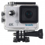 Фото -   Экшн-камера BRAVIS A3 white