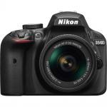 Фото - Nikon Nikon D3400 + AF-P 18-55VR KIT Black + в подарок SILICON POWER Armor A60 500 GB !!!