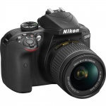 Фото Nikon Nikon D3400 + AF-P 18-55VR KIT Black (VBA490K001)