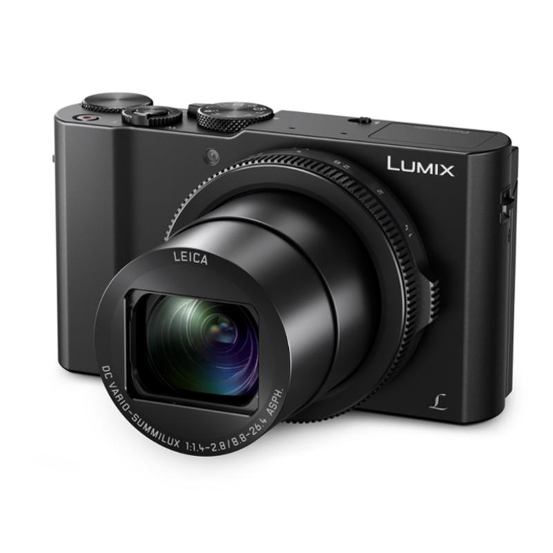Купить - Panasonic Фотоаппарат Panasonic LUMIX Digital Camera DMC-LX15 (DMC-LX15EEK) + Подарочный сертификат на 500 грн.