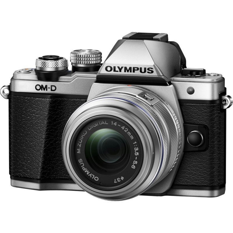 Купить - Olympus E-M10 mark II Pancake Double Zoom 14-42+40-150 Kit S/S/B (V207053SE000)