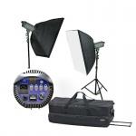 Фото -  Набор студийный ARS-300/VC (ARS-300-2, софт 60х90-2, стойка 68-212см, сумка) (ARS-300 kit)