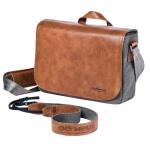 Фото - Olympus DIL/bag OLYMPUS OM-D Messenger Bag Leather + Strap (E0410225)