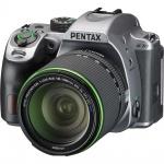 Фото - Pentax Зеркальный фотоаппарат PENTAX K-70 + обьектив DA 18-135WR silky silver (S0017006)