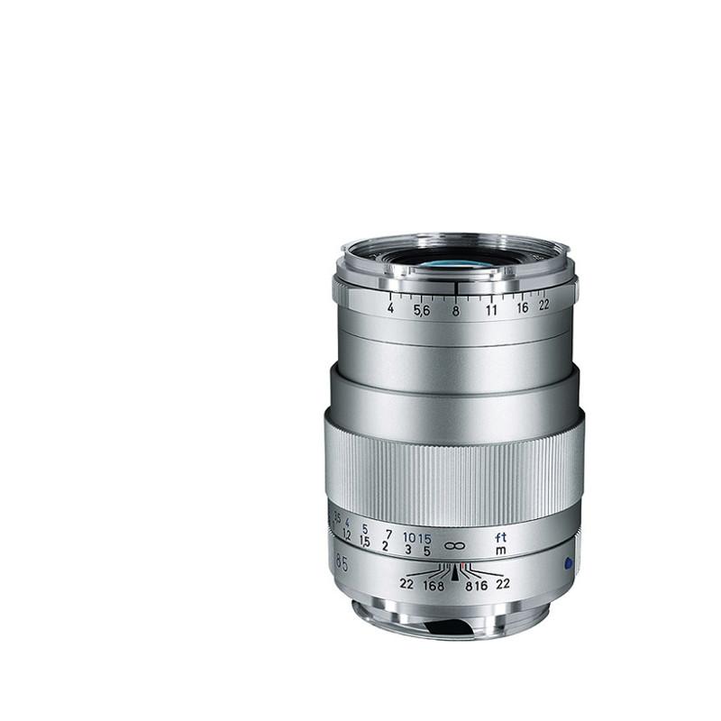 Купить -  Carl Zeiss Tele-Tessar T* 4/85 ZM Silver + светофильтр Carl Zeiss T* UV Filter 43 mm в подарок!!!