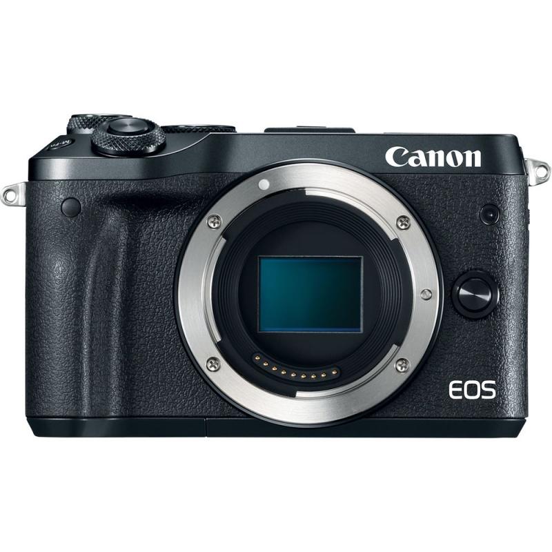 Купить - Canon  Canon EOS M6 Mirrorless Digital Camera (Body Only, Black)