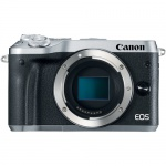 Фото - Canon Canon EOS M6 Mirrorless Digital Camera (Body Only, Silver)