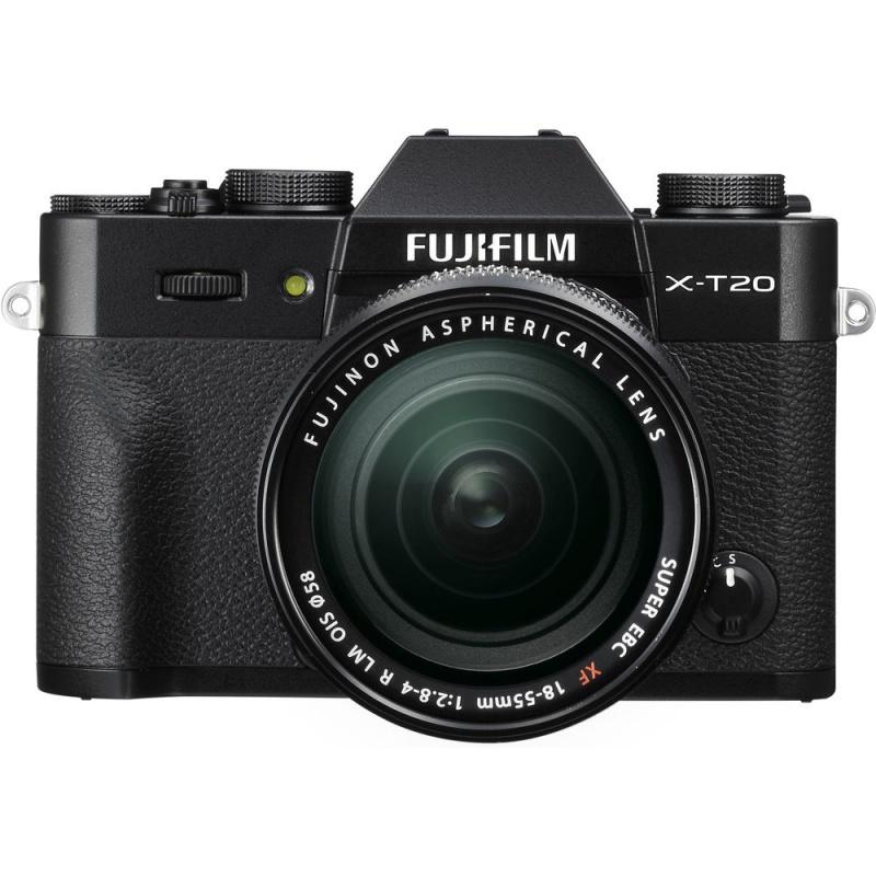 Купить - Fujifilm Fujifilm X-T20 + XF 18-55mm F2.8-4R Kit Black