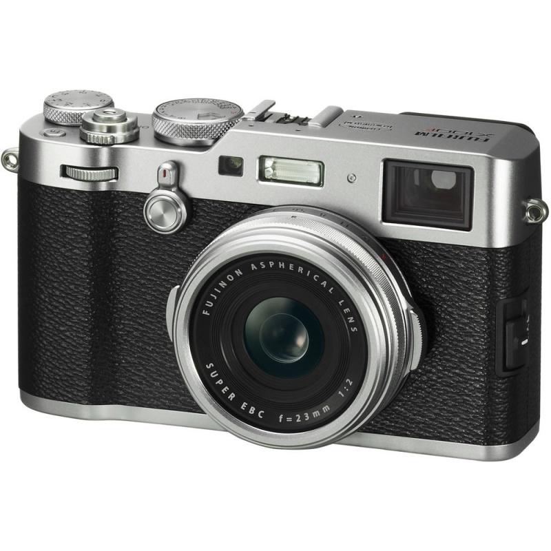 Купить - Fujifilm Цифр. фотокамера Fujifilm FinePix X100F Silver (16534613)