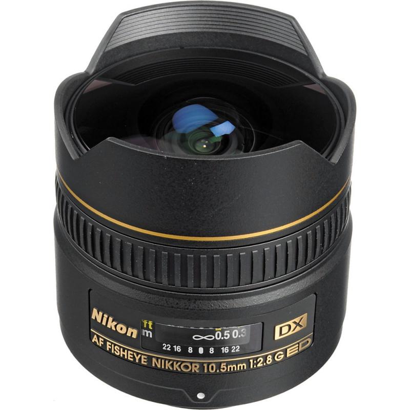 Купить - Nikon Nikon AF-S 10.5 mm f/2.8G IF-ED AF DX FISHEYE NIKKOR (JAA629DA)
