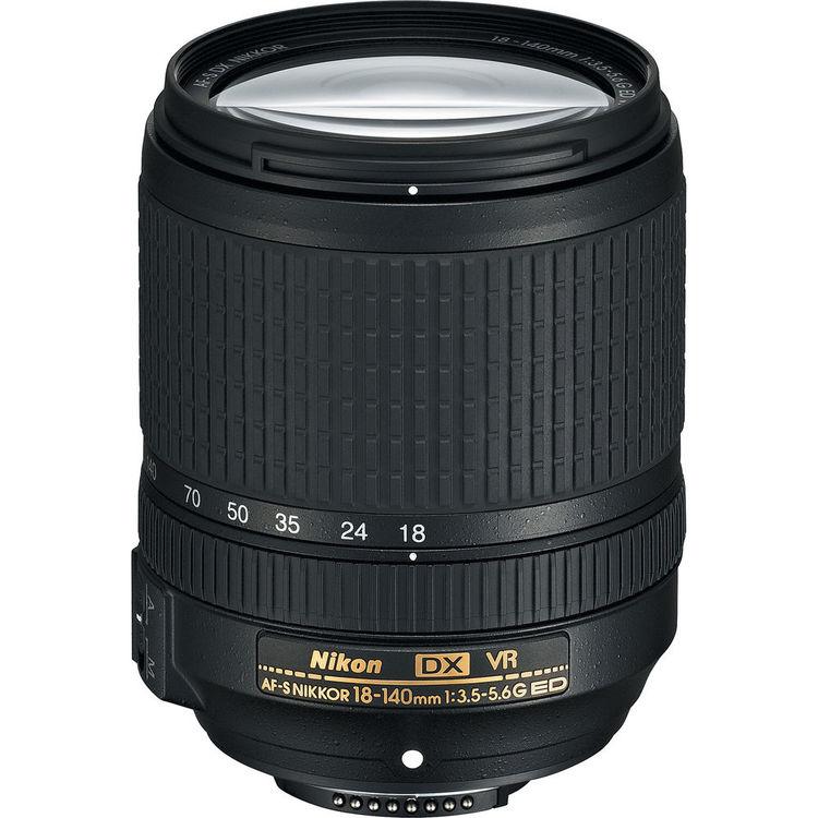 Купить - Nikon Nikon 18-140mm f/3.5-5.6G ED VR AF-S DX (kit)