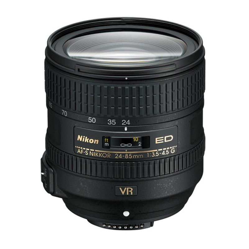 Купить - Nikon Объектив Nikon 24-85mm f/3.5-4.5G ED VR AF-S Nikkor (JAA816DA)