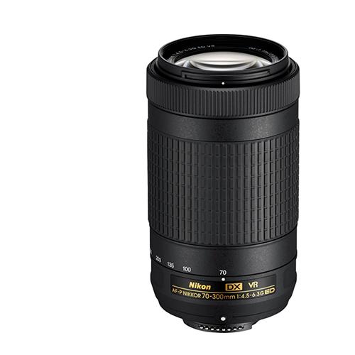 Купить - Nikon AF-P DX NIKKOR 70-300mm f/4.5-6.3G ED VR (JAA829DA)
