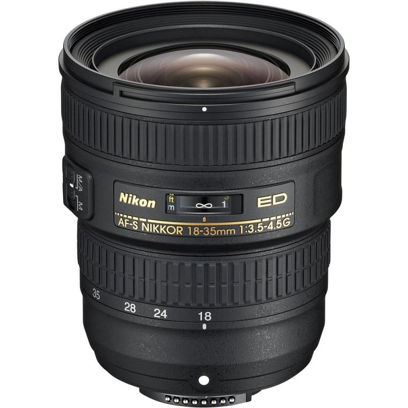 Купить - Nikon Nikon AF-S NIKKOR 18-35mm f/3.5-4.5G (JAA818DA)