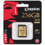 Фото  Карта памяти Kingston 256GB SDHC C10 UHS-I R90/W45MB/s (SDA10/256GB)
