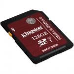Фото Kingston  Карта памяти Kingston 128GB SDXC C10 UHS-I U3 R90/W80MB/s 4K (SDA3/128GB)