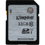 Фото -  Карта памяти Kingston 32GB SDHC C10 UHS-I R45MB/s (SD10VG2/32GB)