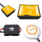 Фото - DJI Полётный контроллер Naza-M V2 + GPS (NAZA-MV2)