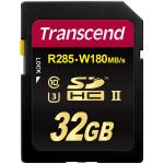 Фото -  Карта памяти Transcend 32GB SDHC C10 UHS-II U3 R285/W180MB/s 4K (TS32GSD2U3)