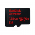 Фото - SanDisk Карта памяти SanDisk 128GB microSDXC V30 A1 UHS-I U3 R100/W90MB/s 4K Extreme Pro + SD (SDSQXCG-128G-GN6MA)