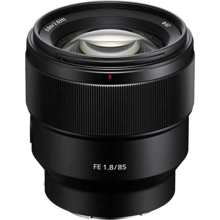 Купить - Sony Sony 85mm f/1.8 FE (SEL85F18.SYX)