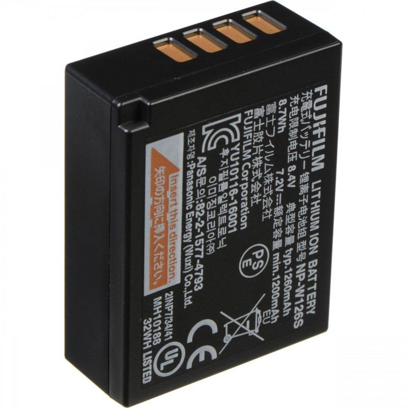 Купить - Fujifilm Аккумулятор Fujifilm NP-W126-S (16528470)